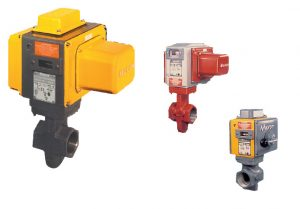 Honeywell Maxon Electromechanical valves.