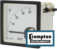 Crompton Instruments Panel meter