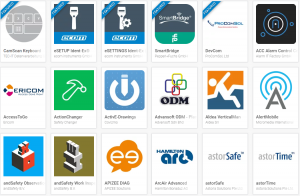 Android apps for the EX Handy intrinsically safe series