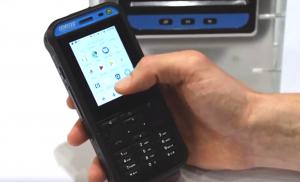 EX handy 10 DZ1 ATEX rated intrinsically safe phone
