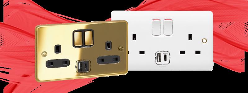 Legrand Type C USB Synergy Plug
