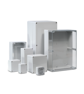 Enclosures, polycarbonate and ABS