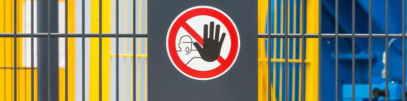 Stop! Danger Sign