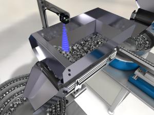 Ultrasonic sensor the U300 and bulk materials